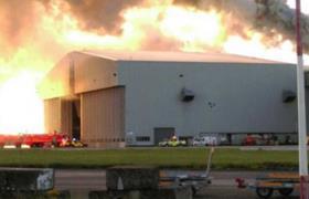 Φωτιά στο αεροδρόμιο του Δουβλίνου: Σοβαρό...